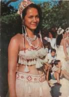 TAHITI - Jeune Fille En Costume De Danse - PUBLICITE AMORA - Tahiti