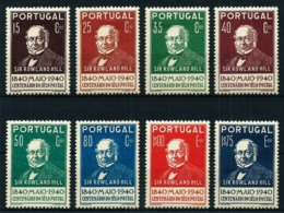 Portugal Nº 600/7 Nuevo* Cat.57,50€ - 1910-... Republic