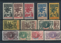 DB-206: HAUT SENEGAL ET NIGER: Lot Avec N°7**-9**-11**-8NSG-14*-10 Obl-12obl- 1/6 Obl - Haut-Sénégal Et Niger (1904-1921)