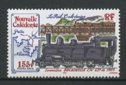 Nlle CALEDONIE 2004 N° 913 ** Neuf MNH Superbe Trains Locomotive DECAUVILLE Le Rail Transports - Nueva Caledonia
