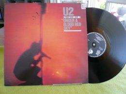 U2 Live 33t Vinyle Under A Blood Red Sky - Disco, Pop