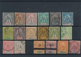 DB-208: MAURITANIE: Lot Avec N°8/16-19-20-21/23+ 4 Timbres 2ème Choix Non Comptés - Upper Senegal And Nigeria (1904-1921)