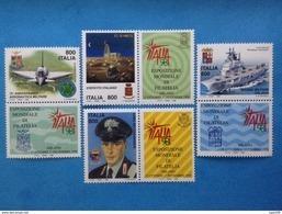 1998 ITALIA FRANCOBOLLI NUOVI STAMPS NEW MNH** GIORNATA DELLE FORZE ARMATE 4 Valori Con Appendice - 1946-.. Republiek