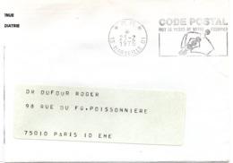 BOUCHES Du RHONE - Dépt N° 13 = MARSEILLE 01 HOTEL Des POSTES 1975 =  FLAMME PP = SECAP ' CODE POSTAL / Mot Passe' - Zipcode