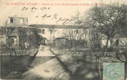 BRUNOY - Forêt De Sénart, Entrée Su Forêt Du Restaurant Et Jardin De L'Ermitage. - Brunoy