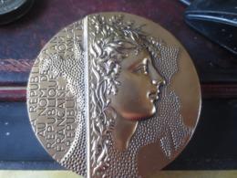 Medaille GRAVEUR MAYOT-CINQUANTENAIRE ASSOCIATION  CORPS PRÉFECTORAL ET HAUTS FONCTIONNAIRES MINISTÈRE INTERIEURR - Royaux / De Noblesse