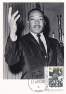 D38196 CARTE MAXIMUM CARD 2018 NETHERLANDS - MARTIN LUTHER KING NOBEL PRIZE - PLEASE READ CP ORIGINAL - Martin Luther King
