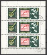 Ungarn 3432A Kleinbogen O NORWEX 80 - Blocks & Kleinbögen