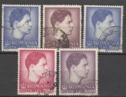 Rumänien 1028/32 O - Gebraucht