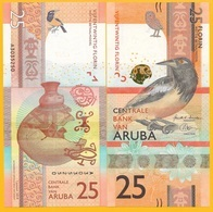 Aruba 25 Florin P-new 2019 UNC Banknote - Aruba (1986-...)