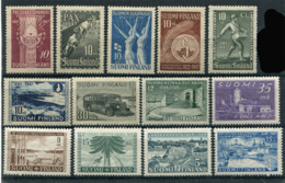 Finland 1947-51. 23 Stamps (not Mint - Lightly Hinged) - Finland