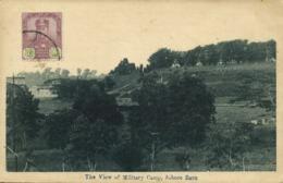 Malay Malaysia, JOHOR JOHORE BAHRU, View Of Military Camp (1920s) Postcard - Malaysia