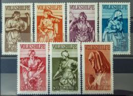 SARRE / SAARGEBIET 1934 - MNH - Mi 171, 172, 173, 174, 175, 176, 177 - Volkshilfe, Standbilder - 1920-35 Société Des Nations