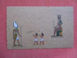 Egypt  Osiris Unnefer   Nut The Mother Of The Gods   Ref 3609 - Other