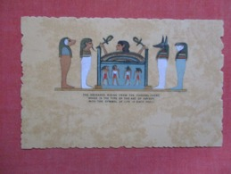 Egypt   The Deceased Rising From The Funeral Chest    Ref 3609 - Other