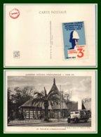 CPA Nouvelle Calédonie Ticket Entrée Non Perforé Exposition Coloniale 1931 Non écrite - Tickets D'entrée