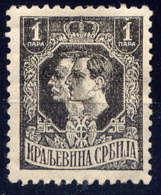 SERBIE - 133* - LE ROI PIERRE ET LE PRINCE-REGENT ALEXANDRE - Serbie