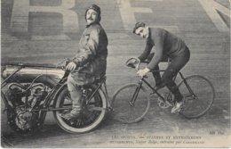 CYCLISME - HUYBRECHTS, Stayer Belge, Entrainé Par CARREMANS - Bon état - ND - - Wielrennen