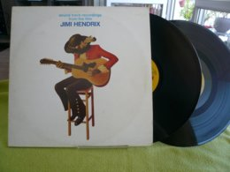 Jimi Hendrix X2 33t Vinyle Sound Track Recordings From De Film - Collector's Editions