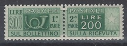 Italia Paquetes 64 ** MNH. 1946 - Colis-postaux