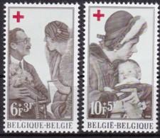 1968, Belgien, 1509/10,  MNH **,  Rotes Kreuz. - Belgien