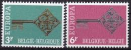 1968, Belgien, 1511/12,  MNH **, Europa - Belgien