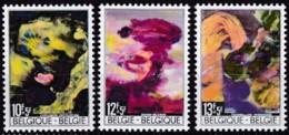 1968, Belgien, 1518/19,  MNH **, Katastrophenhilfe. - Belgien