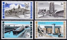 1968, Belgien, 1523/26,  MNH **, Nationale Interessen. - Belgien