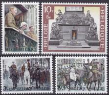 1968, Belgien, 1531/34,  MNH **, Waffenstillstand Von 1918 - Belgien