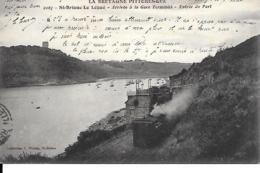 22 STB BRIEUC ARRIVEE A LA GARE TERMINUS TRAIN - Saint-Brieuc