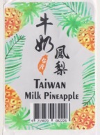 Fruit Label Pineapple Taiwan - Frutta E Verdura