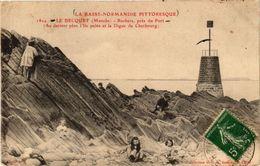 CPA La Basse-Normandie...Le BECQUET - Rochers Pres Du Port (245581) - Frankreich
