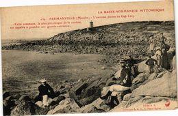 CPA FERMANVILLE - L'extreme Poine Du Cap Levy - Cette Commune... (246005) - France