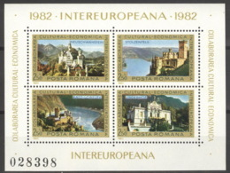 Rumänien Block 187 ** Postfrisch INTEREUROPA - Blocs-feuillets