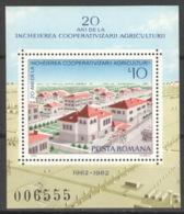 Rumänien Block 189 ** Postfrisch Landwirtschaft - Blocs-feuillets