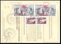 50684 Ste Eulalie Gironde Poste Aérienne PA N°48 Guillaumet Codos X 2 Airmal Ordre De Reexpedition Temporaire France - Luftpost