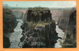 Victoria Falls 1906 Postcard - Simbabwe