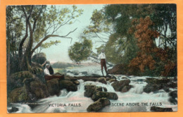 Victoria Falls 1906 Postcard - Zimbabwe