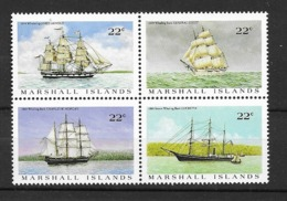 1987 MNH Marshal Mi 109-11, Postfris ** - Ships
