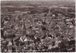 Lüneburg. Die Altstadt Mit St. Johannis Und St. Michaelis - (Luftbild) - Lüneburg