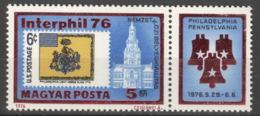 Ungarn 3122AZf ** Postfrisch Interphil 76 - Ungebraucht