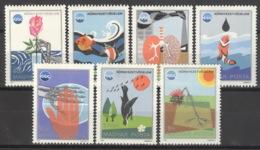 Ungarn 3070/76A ** Postfrisch Umweltschutz - Ungebraucht