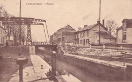 Châtelineau L'Ecluse Circulée En 1923 - Châtelet