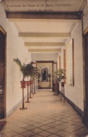Châtelet Pensionnat Des Soeurs De St.Marie Galerie St Antoine Circulée En 1924 Voir Verso - Châtelet
