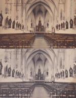 Deux Cartes De Châtelet Pensionnat Des Soeurs De St.Marie Chapelle Une En Noir Et Blanc - L'autre En Couleur - Chatelet