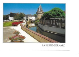 72 LA FERTE BERNARD Cpm Promenade Au Bord De L'Huisne - La Ferte Bernard