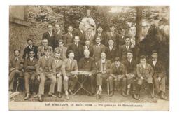 08/ ARDENNES...LE WARIDON. 15 Août 1926. Un Groupe De Retraitants - Autres Communes