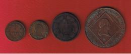 Autriche  - Lot De 4 Monnaies Anciennes - Autriche