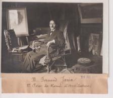 FERNAND JANIN 1ER  PRIX DE ROME D'ARCHITECTURE  18*13CM Maurice-Louis BRANGER PARÍS (1874-1950) - Personalidades Famosas