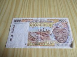 Sénégal.Billet 1000 Francs. - Sénégal